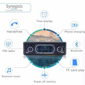 Car Radio with Remote Control
