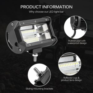 Waterproof LED Work Light for Car