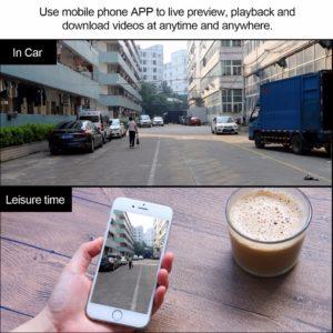 Wireless Car Dash Camera