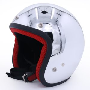Mirror Chrome Cover Motorcycle Helmet