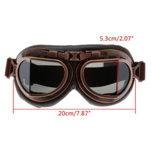 Vintage Style Motorcycle Protective Goggles
