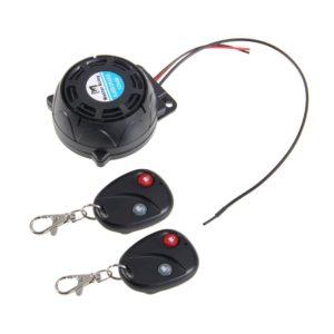 Motorcycle Remote Control Alarm System