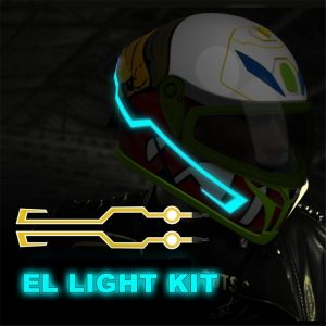 Tron Inspired Motorcycle LED Kit