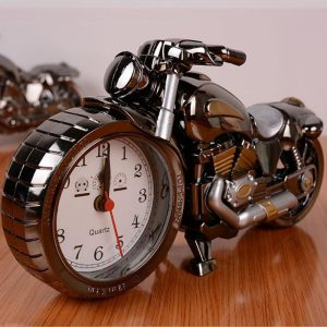 Vintage Motorcycle Alarm Clock
