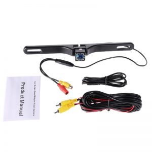 License Plate Mounted Reverse Camera